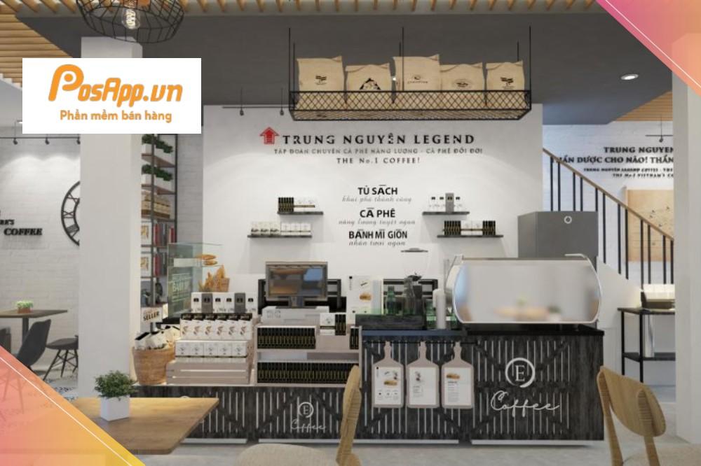 Quán Trung Nguyên E-Coffee