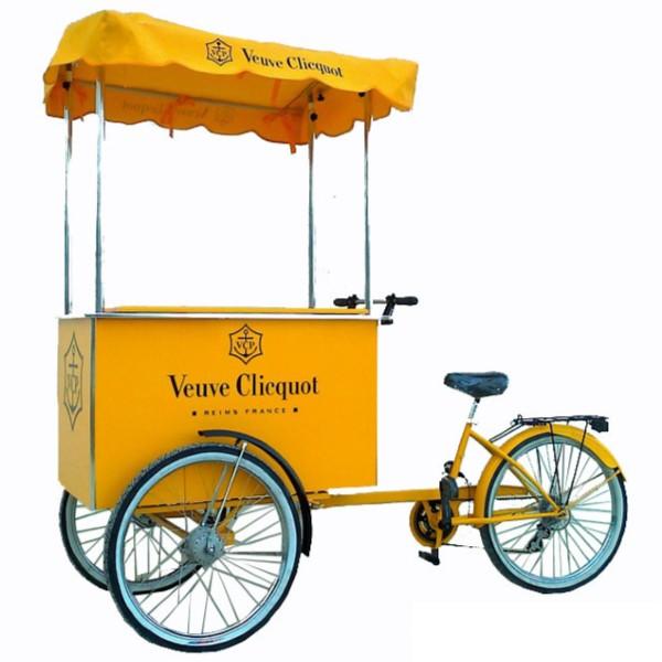 mô hình xe ba bánh bán đồ ăn