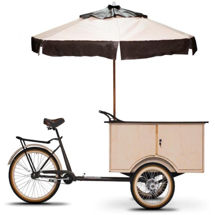 xe đạp ba bánh bán hàng