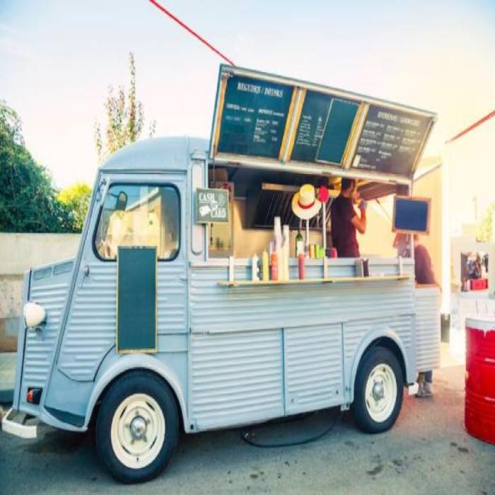 xe food-truck bán nước