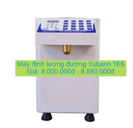 Giá máy định lượng đường Yubann