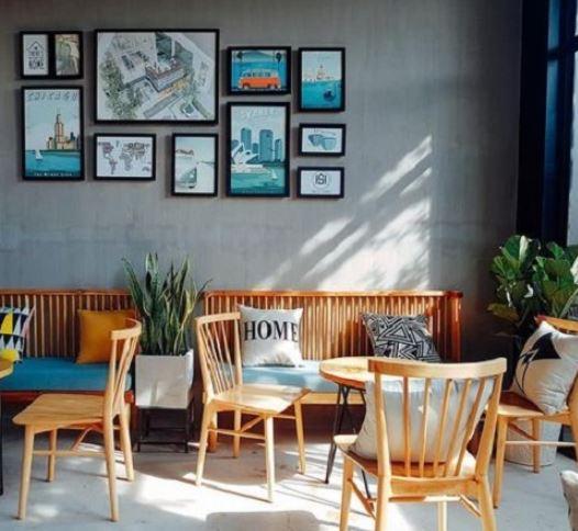 bàn ghế cafe cũ thanh lý giá rẻ