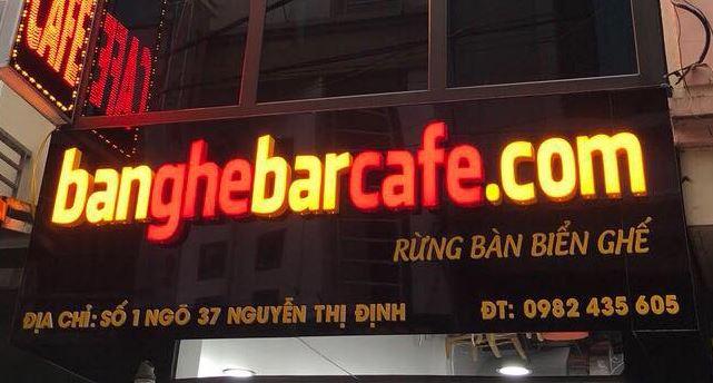 BÀN GHẾ BAR CAFE HÀ NỘI