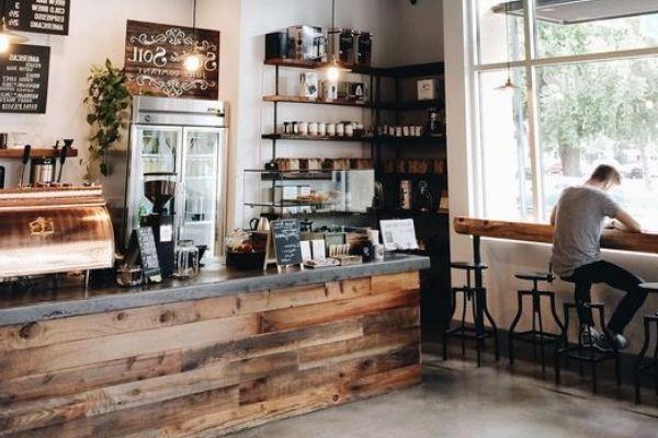 cafe hiện đại