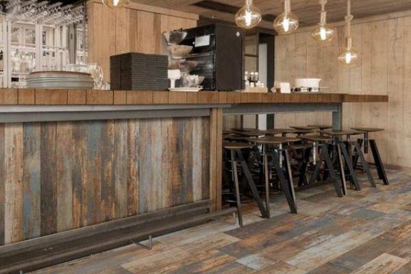 trang trí quán cafe sang trọng