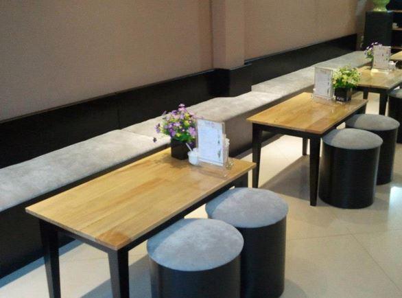 bàn ghế cafe đơn giản