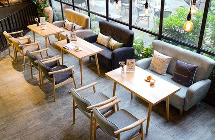 Bàn ghế cafe, trà sữa sofa