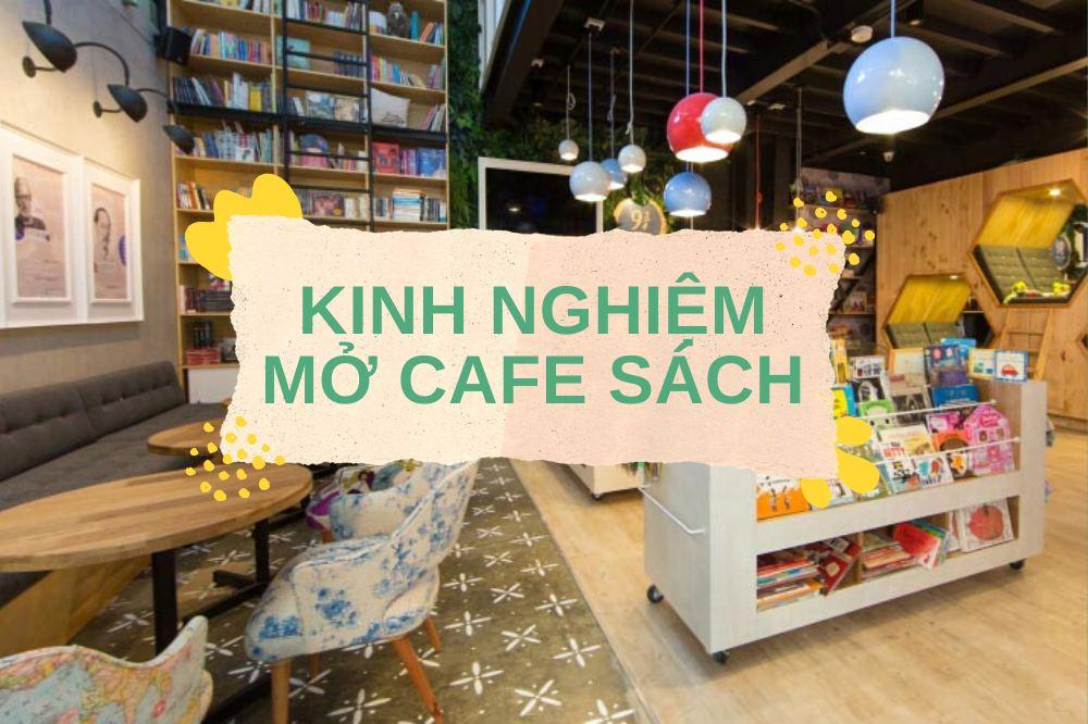 mở cafe sách