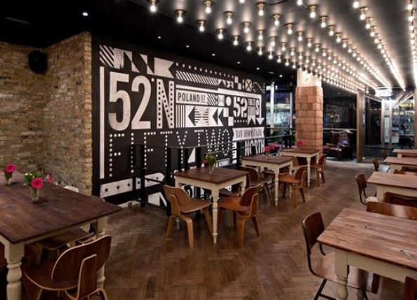 Thiết kế nhà hàng Cà phê