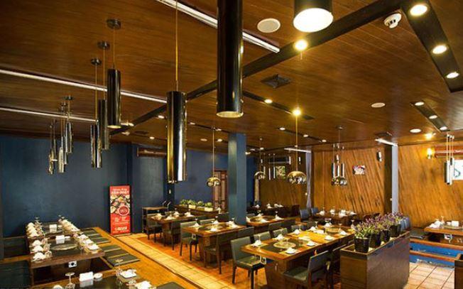 Thiết kế nhà hàng Lẩu nướng không khói