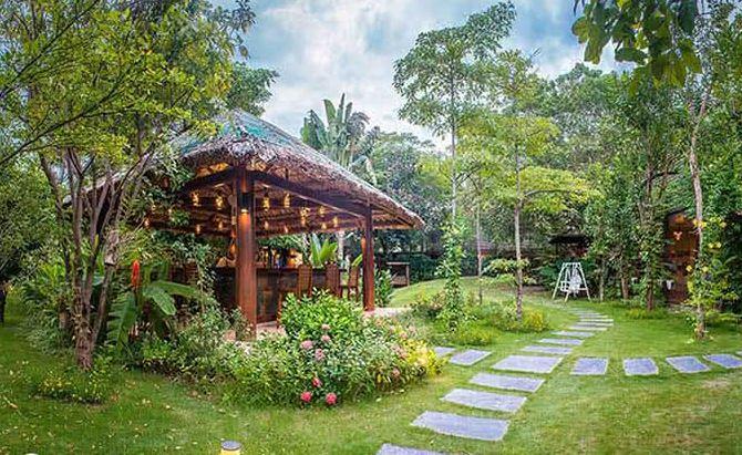 Thiết kế nhà hàng Sinh thái