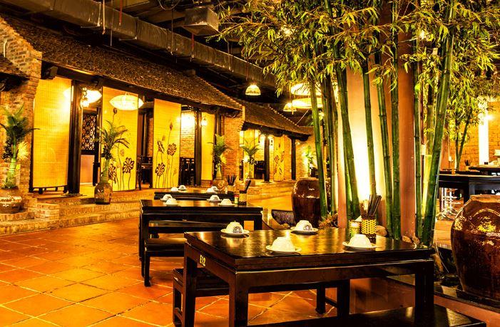 nhà hàng truyền thống việt nam