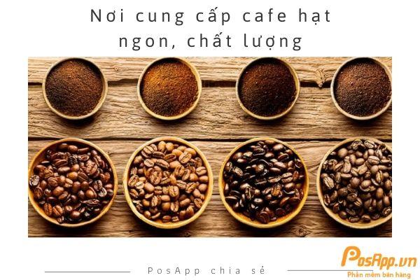 nơi cung cấp cafe hạt ngon