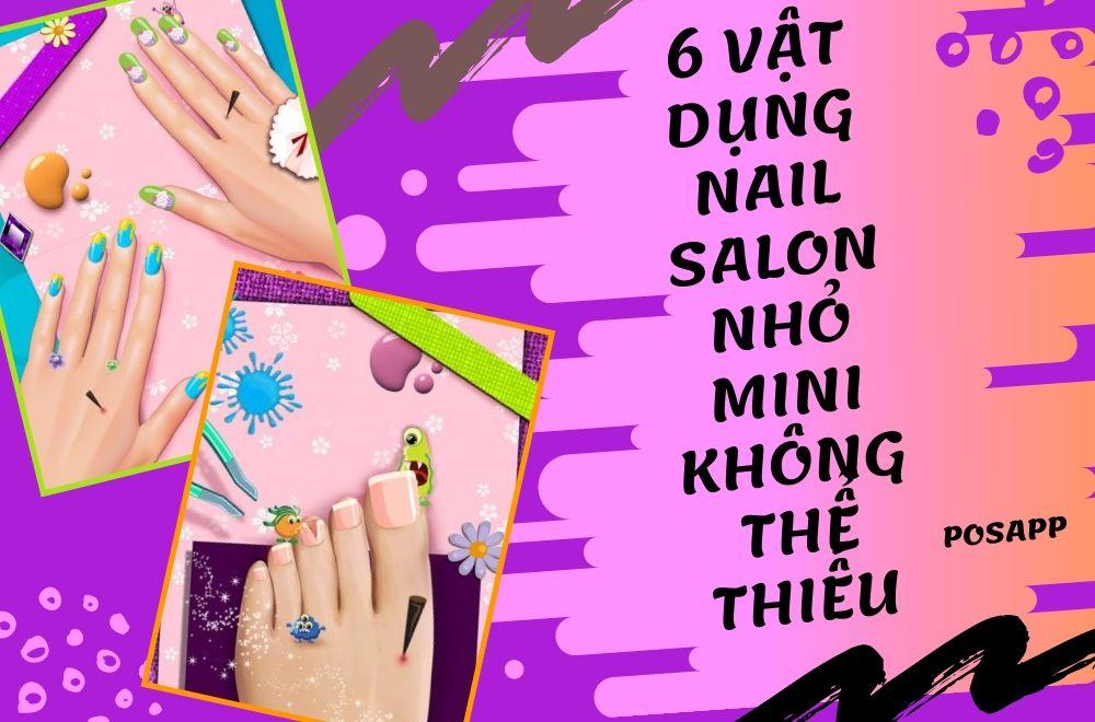 vật dụng nail salon