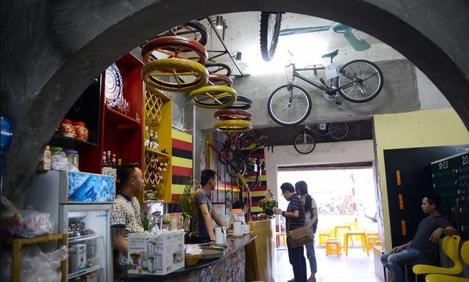cà phê xe đạp