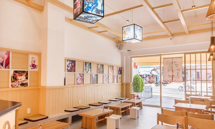 quán cafe anime độc đáo sáng tạo