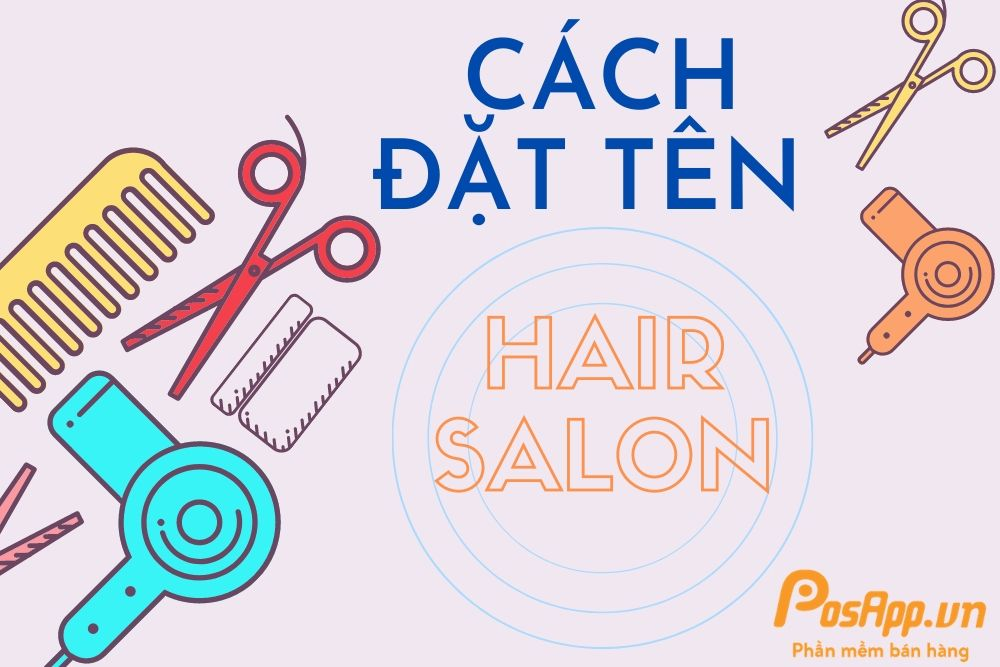 đặt tên hair salon