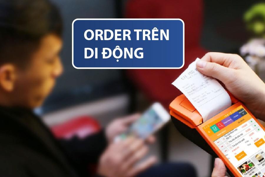order trên di động