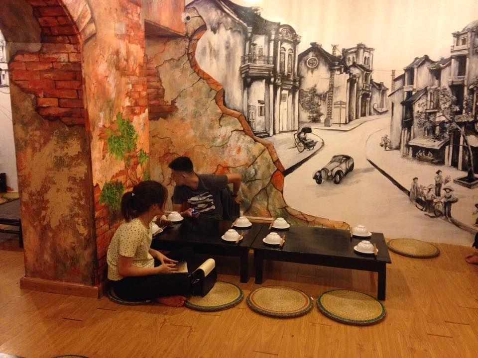 decor quán ăn