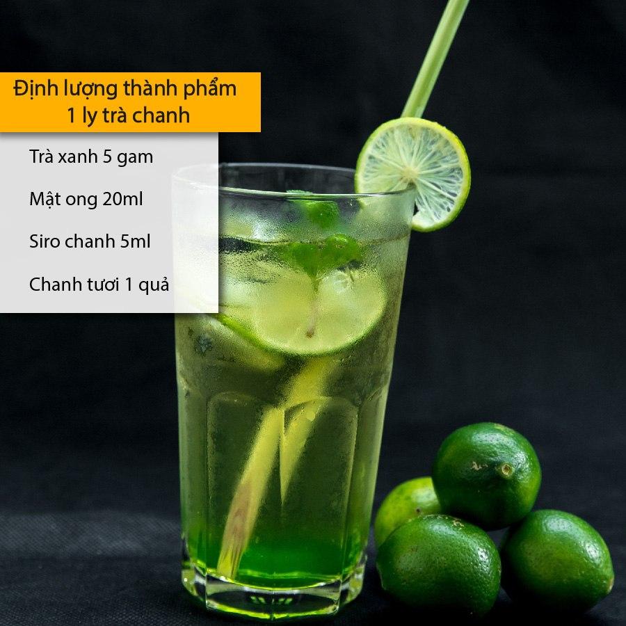 định lượng kho trà chanh