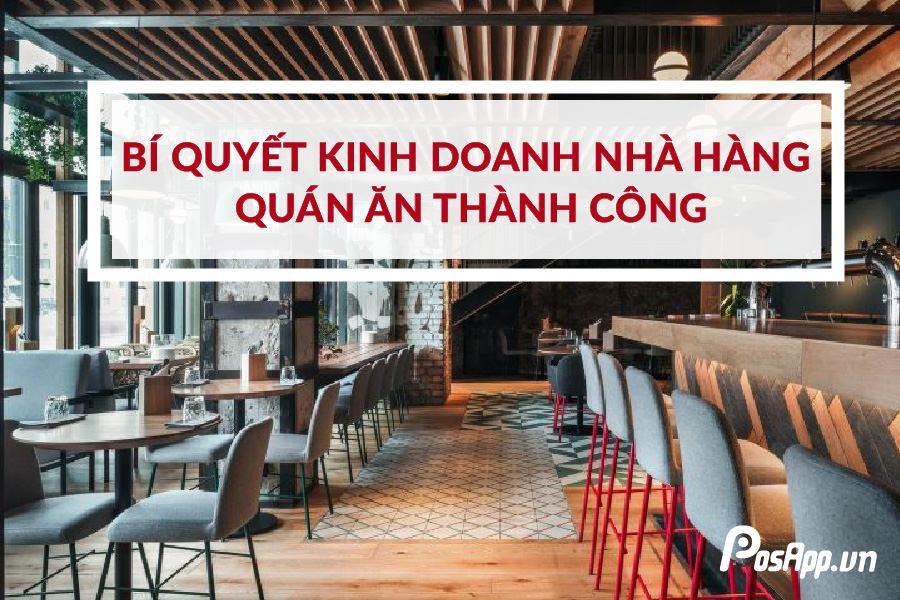 kinh doanh nhà hàng quán ăn