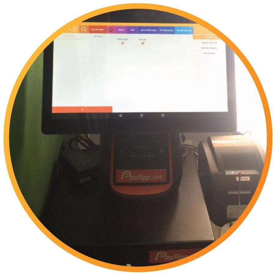 máy tính tiền cầm tay pac cho tạp hóa