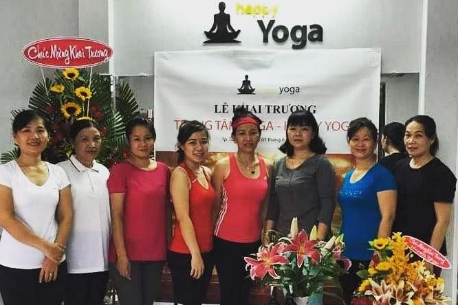 Cúng khai trương Phòng tập Yoga