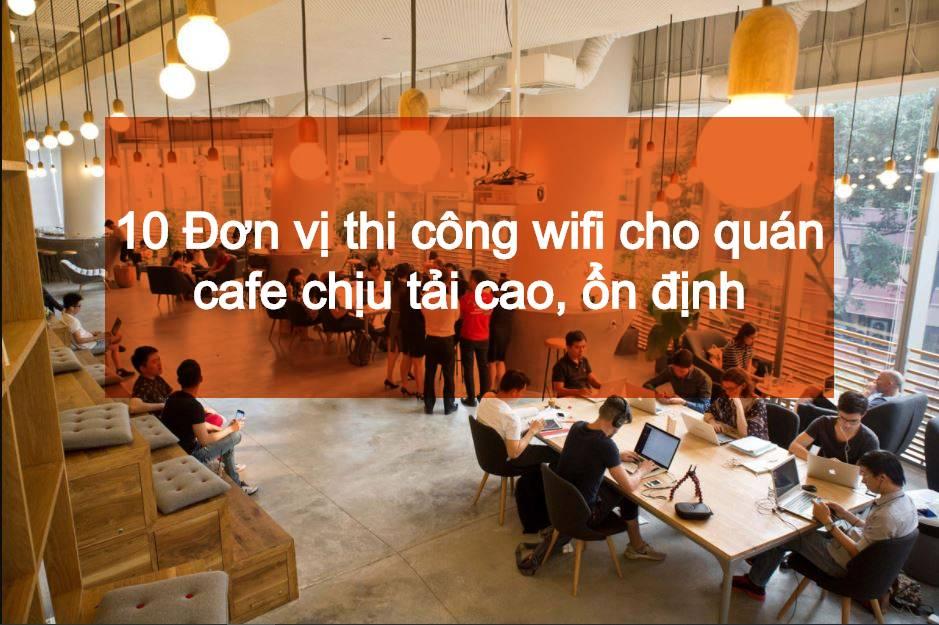 wifi cho quán cafe