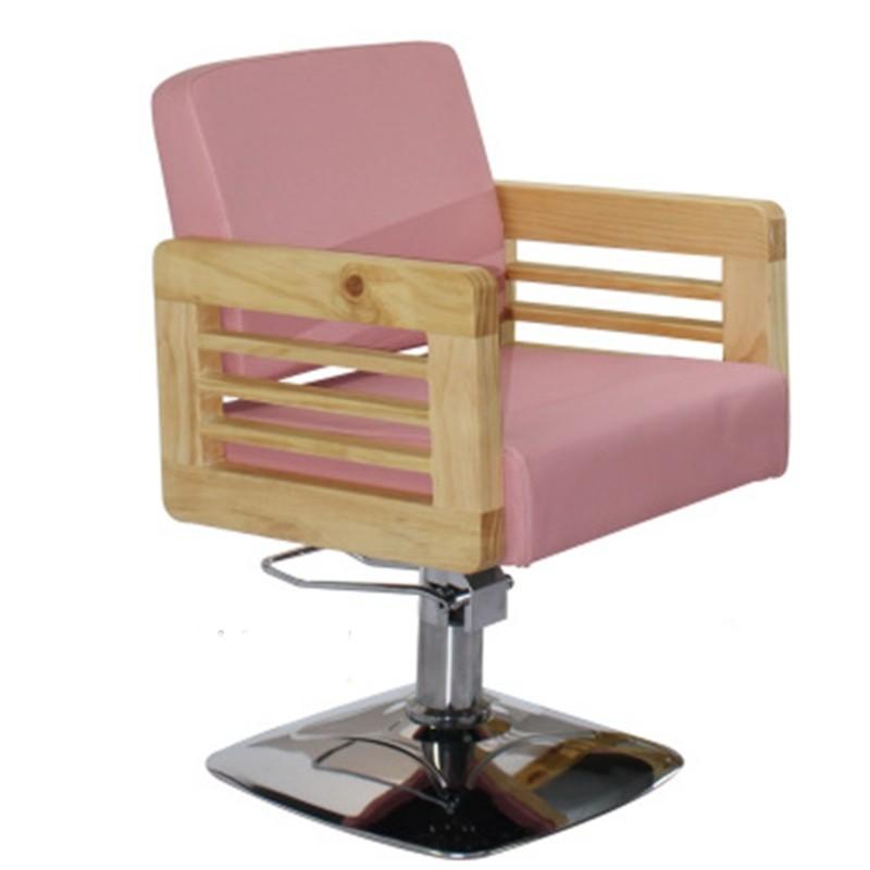 ghế cắt tóc nữ màu sắc trẻ trung