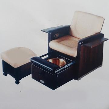 ghế làm nail bằng gỗ
