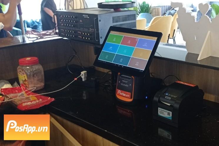 máy thu ngân Phong Coffee and Tea
