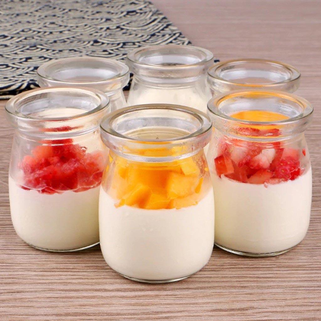 hủ thủy tinh yogurt