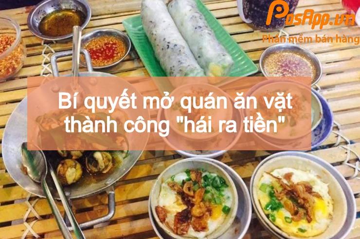 quán ăn vặt thành công