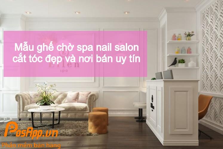 không gian spa nail salon