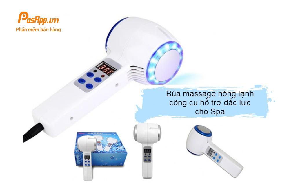 búa massage nóng lạnh