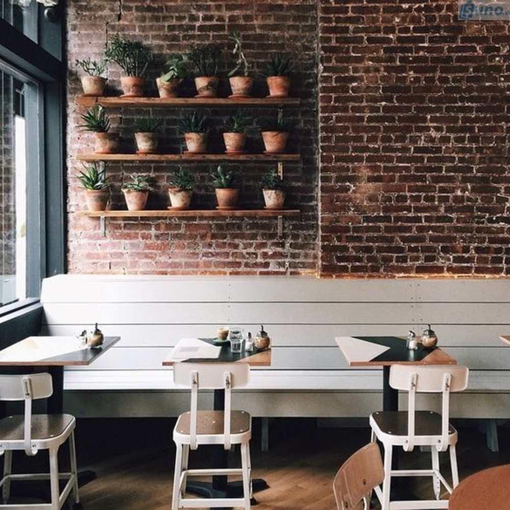 cách trang trí quán cafe ấn tượng