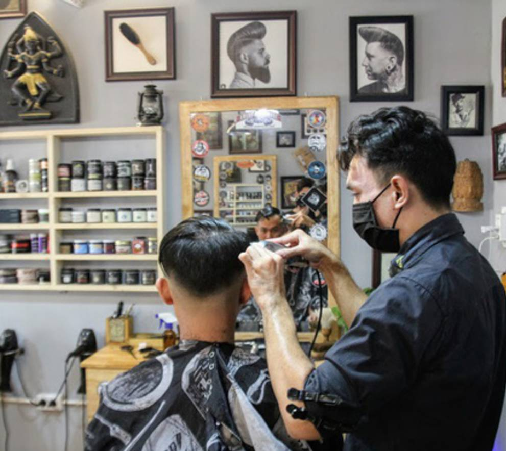 mở tiệm cắt tóc tại nhà
