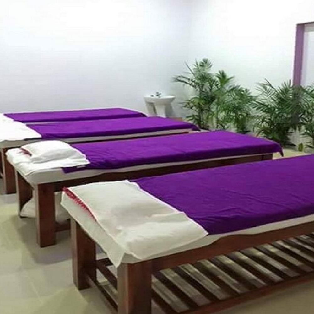 ga giường spa màu tím