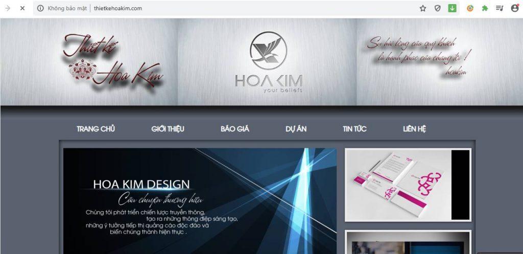 Công ty TNHH Thiết kế Kim Hoa