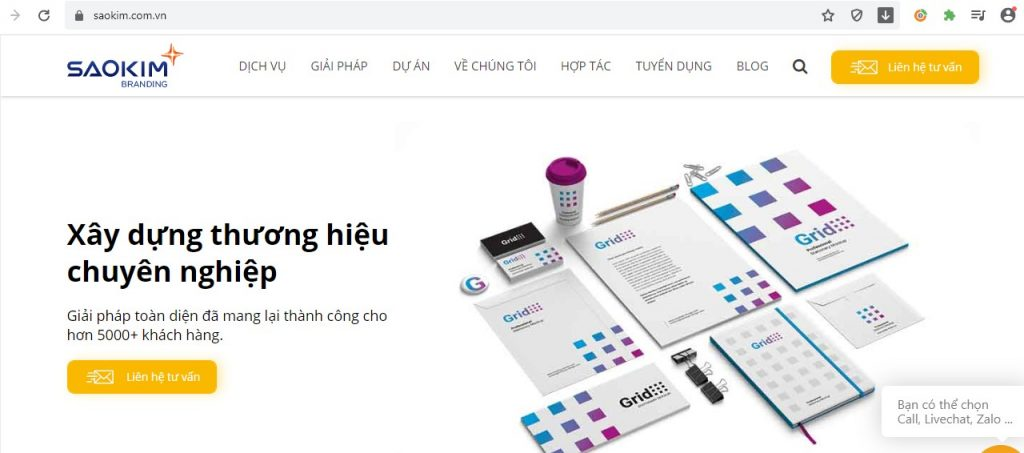 Sao Kim Branding
