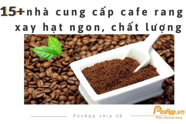 Cafe hạt rang xay