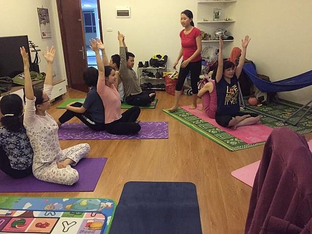 kinh doang yoga tại nhà