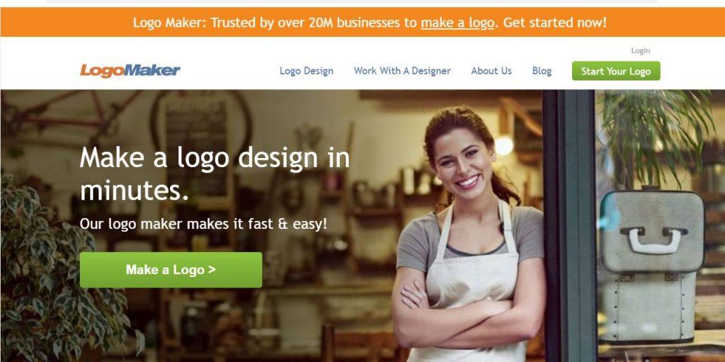 bước đầu tạo logo