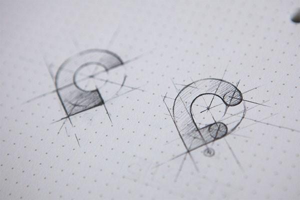 phác họa logo