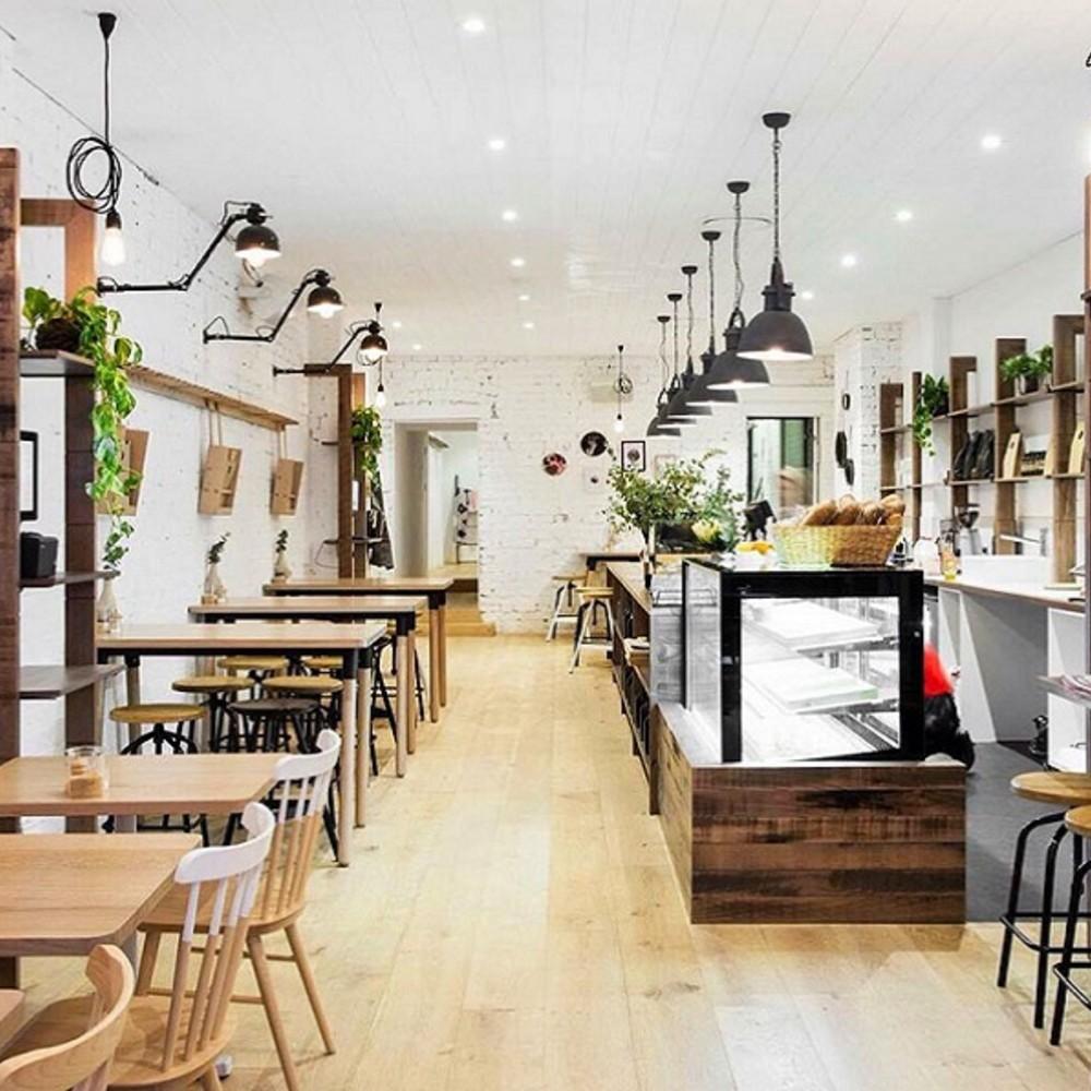 thiết kế quán cafe nhà ống đẹp