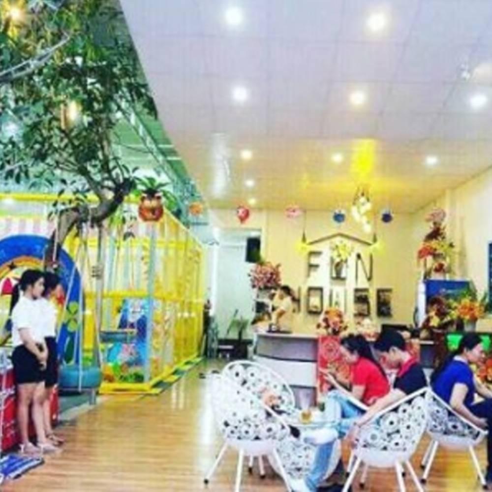 thiết kế quán cafe tai các khu vui chơi giải trí