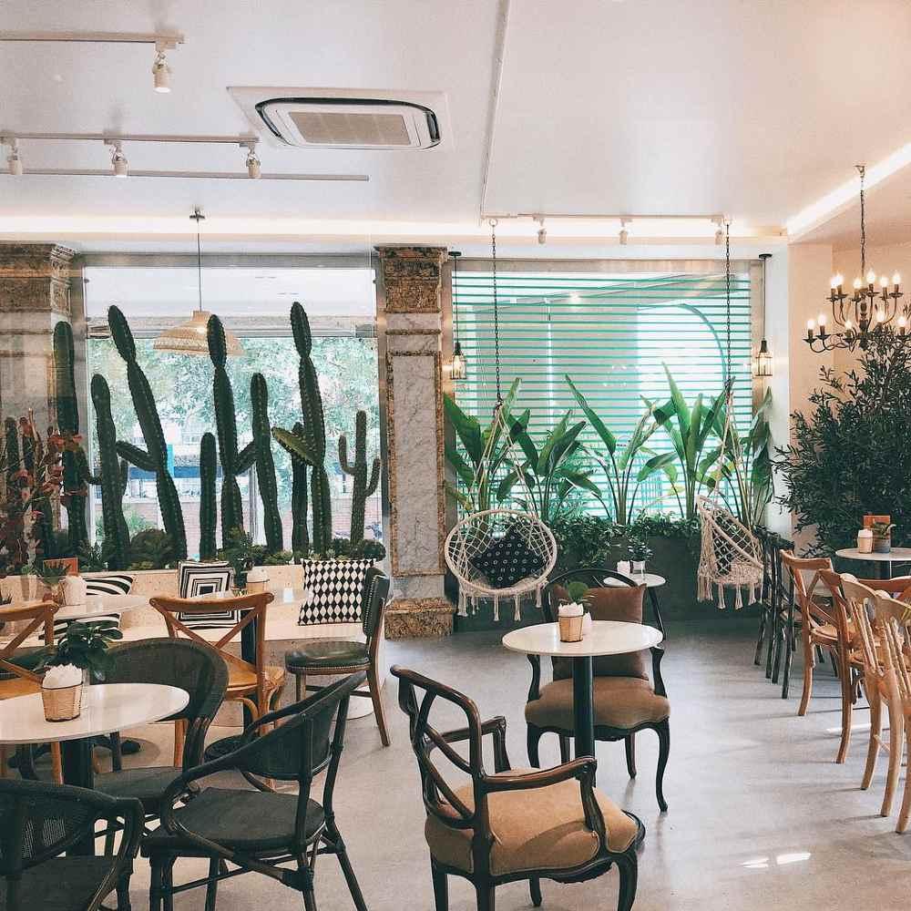 thiết kế quán cafe du miên