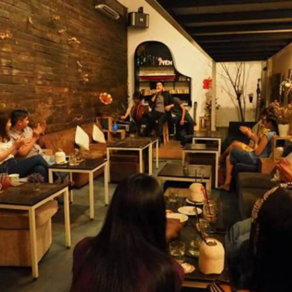 thiết kế quán cafe acoustic cơ bản