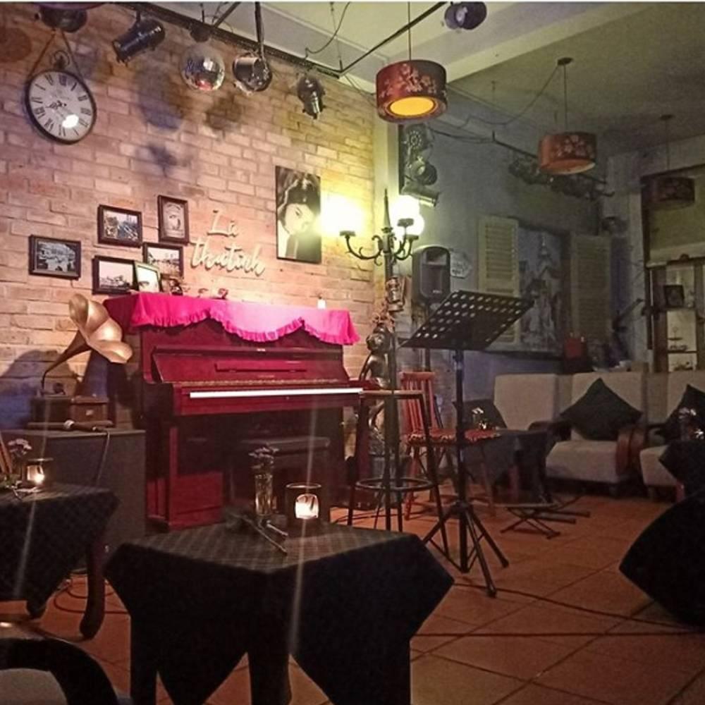 thiết kế quán cafe acoustic sang trọng