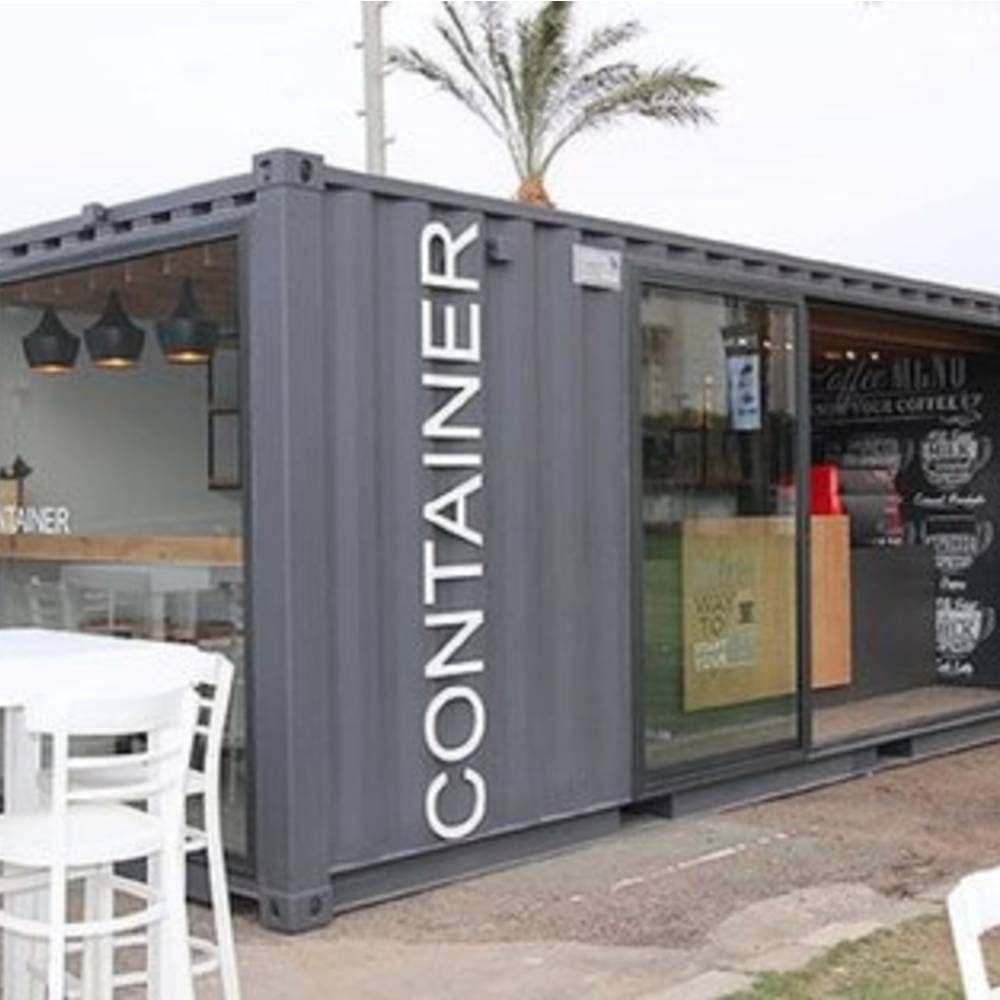 thiết kế quán cafe container đẹp